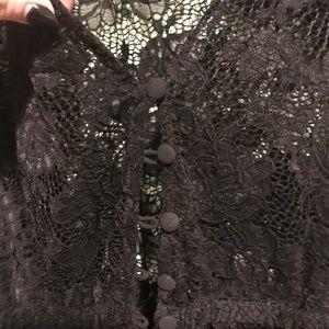 torrid Swim - Torrid button front lace Kimono